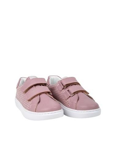 Kids A More Colorlest Çift Cırtlı Deri Kız Çocuk Sneaker  Lila
